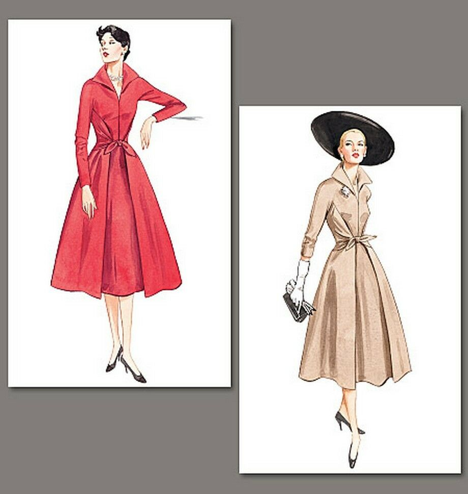 50s fifties style dress SEWING PATTERN, Vintage Vogue 2401 ...