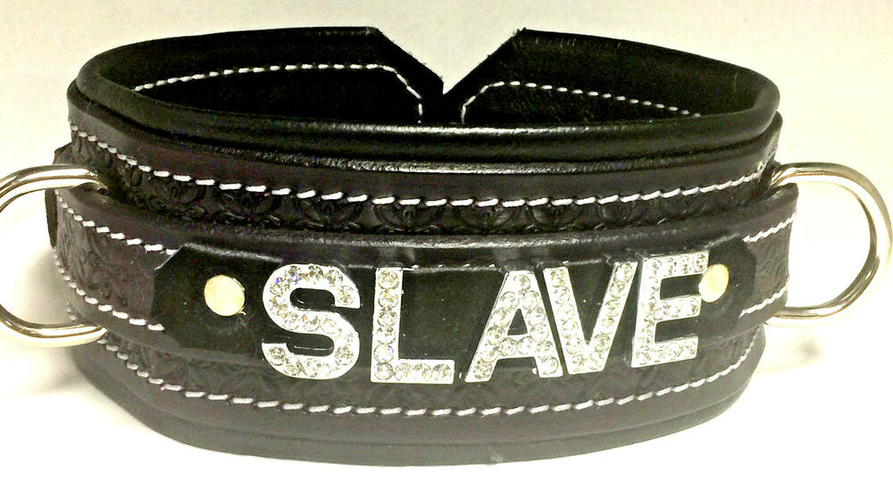 Customized bondage collars