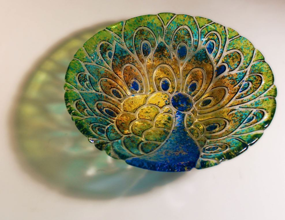 Painting And Slumping Glass