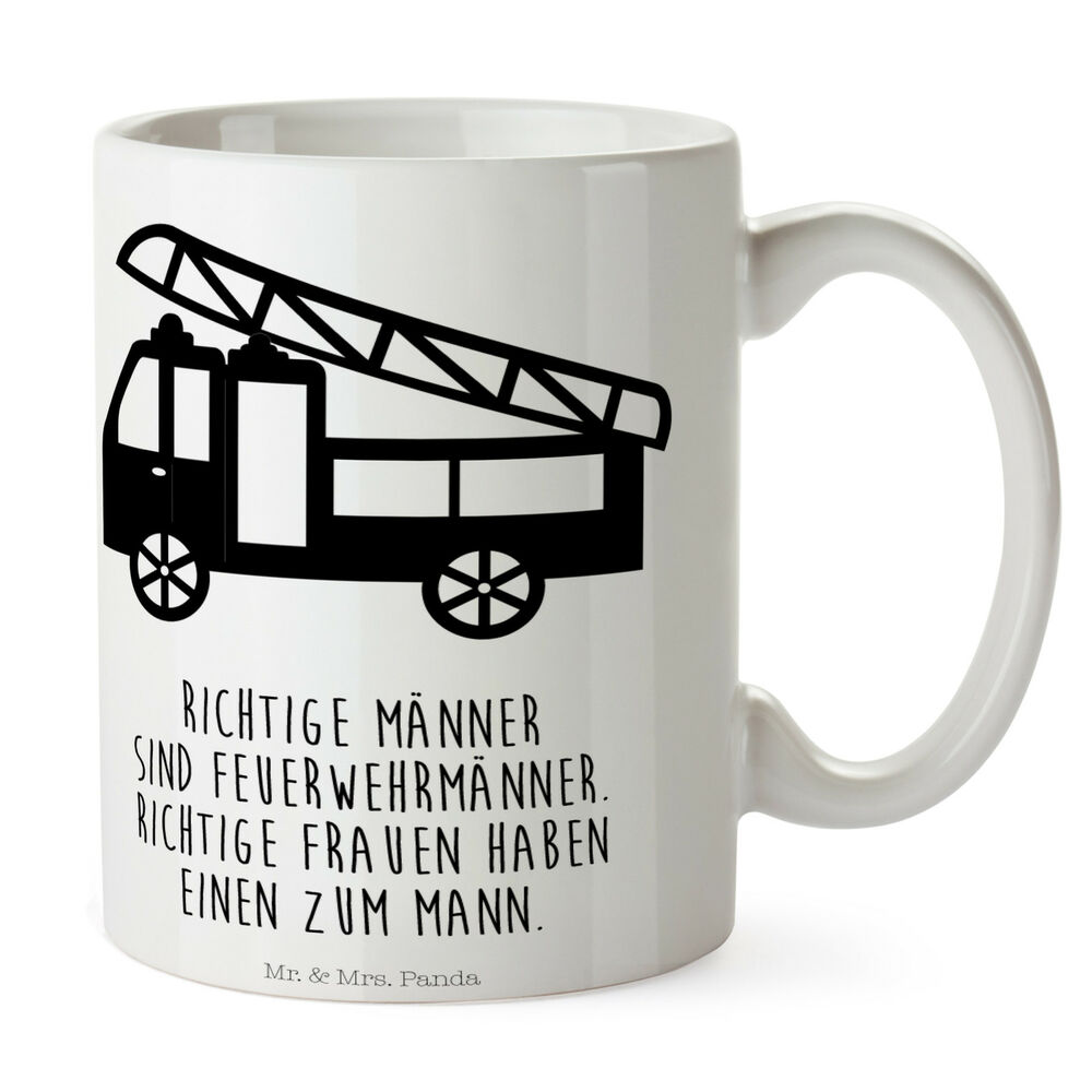 tasse feuerwehr tasse tassen becher kaffeetasse kaffee geschenkidee ebay. Black Bedroom Furniture Sets. Home Design Ideas