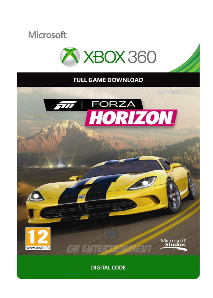 forza horizon xbox 360 xbox one full game digital download key ebay. Black Bedroom Furniture Sets. Home Design Ideas
