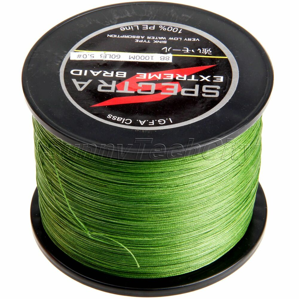 4 8 strands army green 300m 500 1000m salt water braided for Black braided fishing line