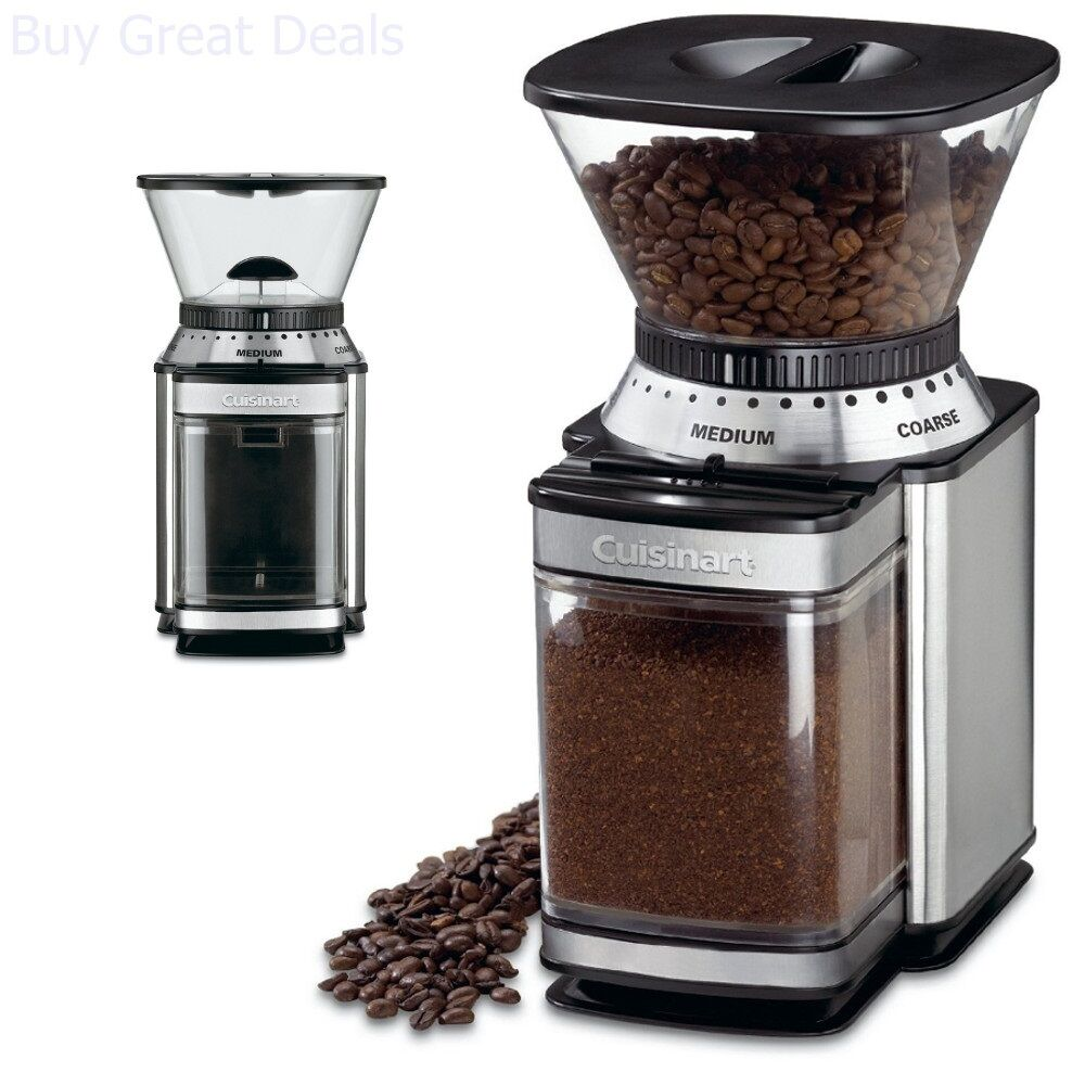 Commercial Electric Grinder Auto Coffee Tea Espresso Burr