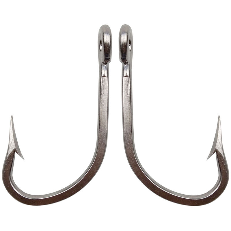 Lot 7731 stainless steel fishing hooks big game thick tuna for Giant fish hook