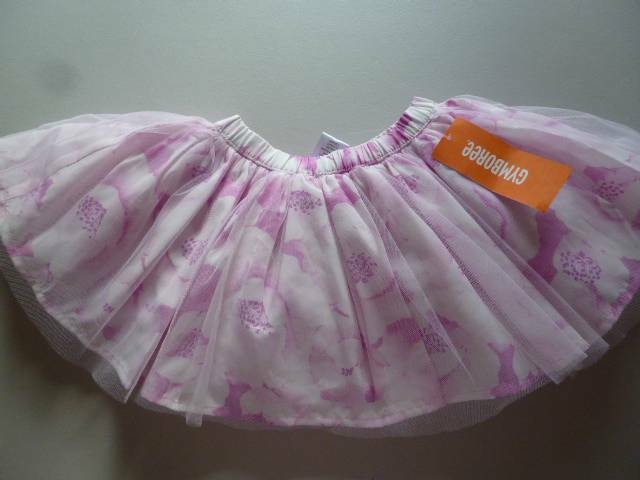 New Gymboree Ballet Tunic Top 2T Purple Ballerina Slippers NWT Center Stage Girl