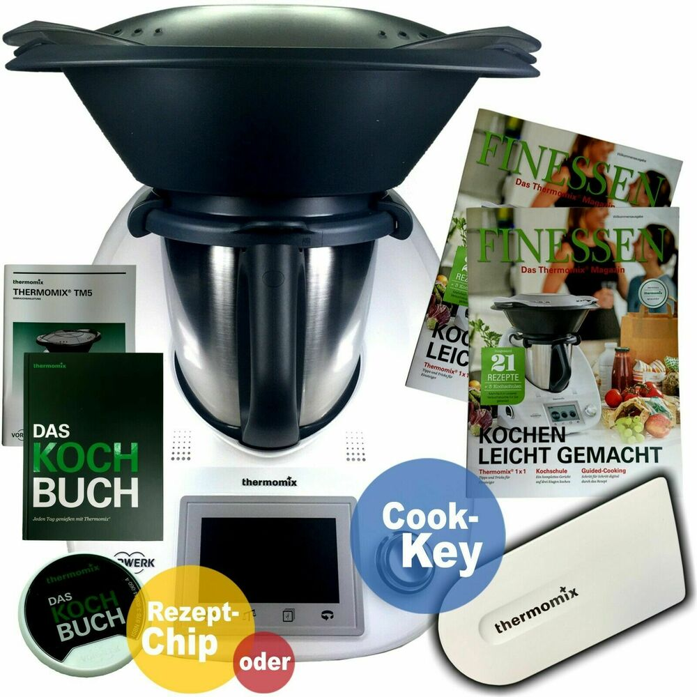 vorwerk thermomix tm5 sale varoma kochbuch chip rezepte buch neu tm 5 ovp ebay. Black Bedroom Furniture Sets. Home Design Ideas