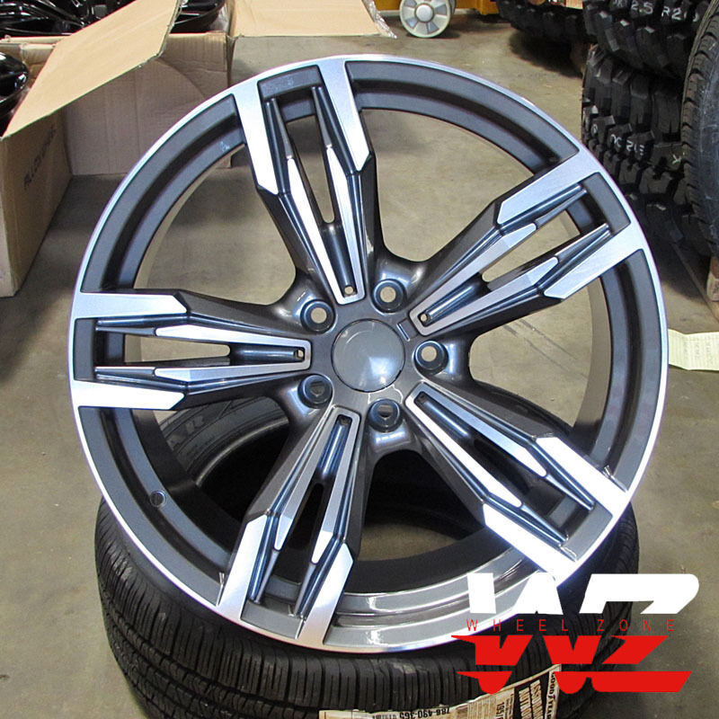 18 Inch 433 Style Wheels Gunmetal Fits BMW 1 2 3 4 Series
