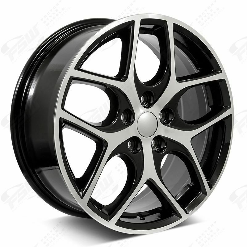 17 Quot Ford Focus Svt Style Wheels Black Macined Fits Ford