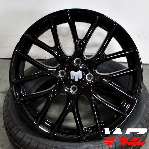 Mini Cooper Wheels >> 17 Mini Cooper Wheels Gloss Black Finish Fits Mini Cooper