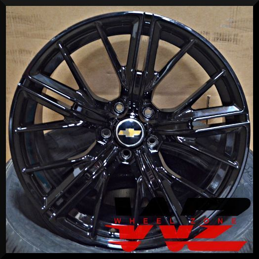 20 Quot Gloss Black Staggered New Wheels Rims 2017 Zl1 Style