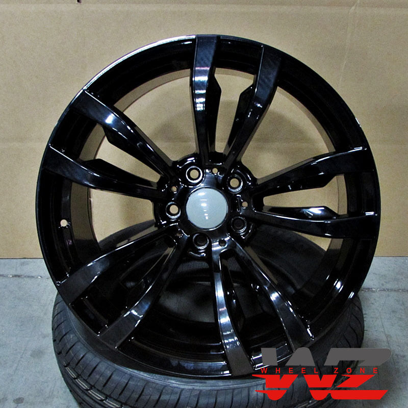 20 Quot 469 Style Gloss Black Wheels Fits Bmw X5 X6 Xdrive 35d
