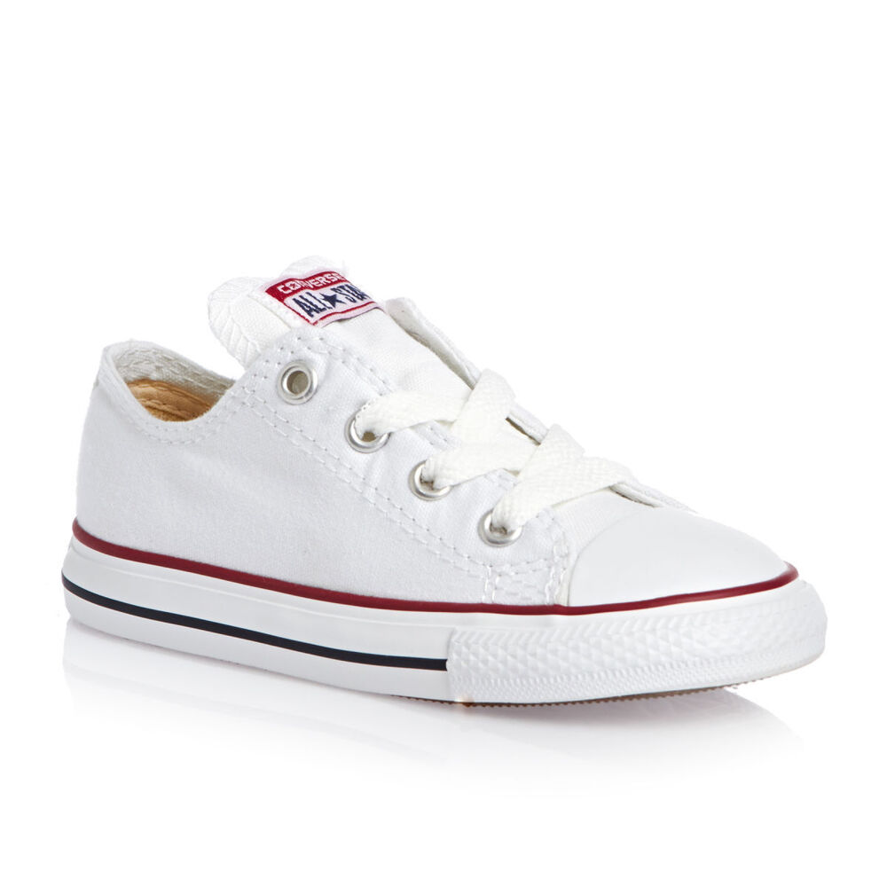 Converse Star Optical CT White 7J256 Baby Boys Girls ...