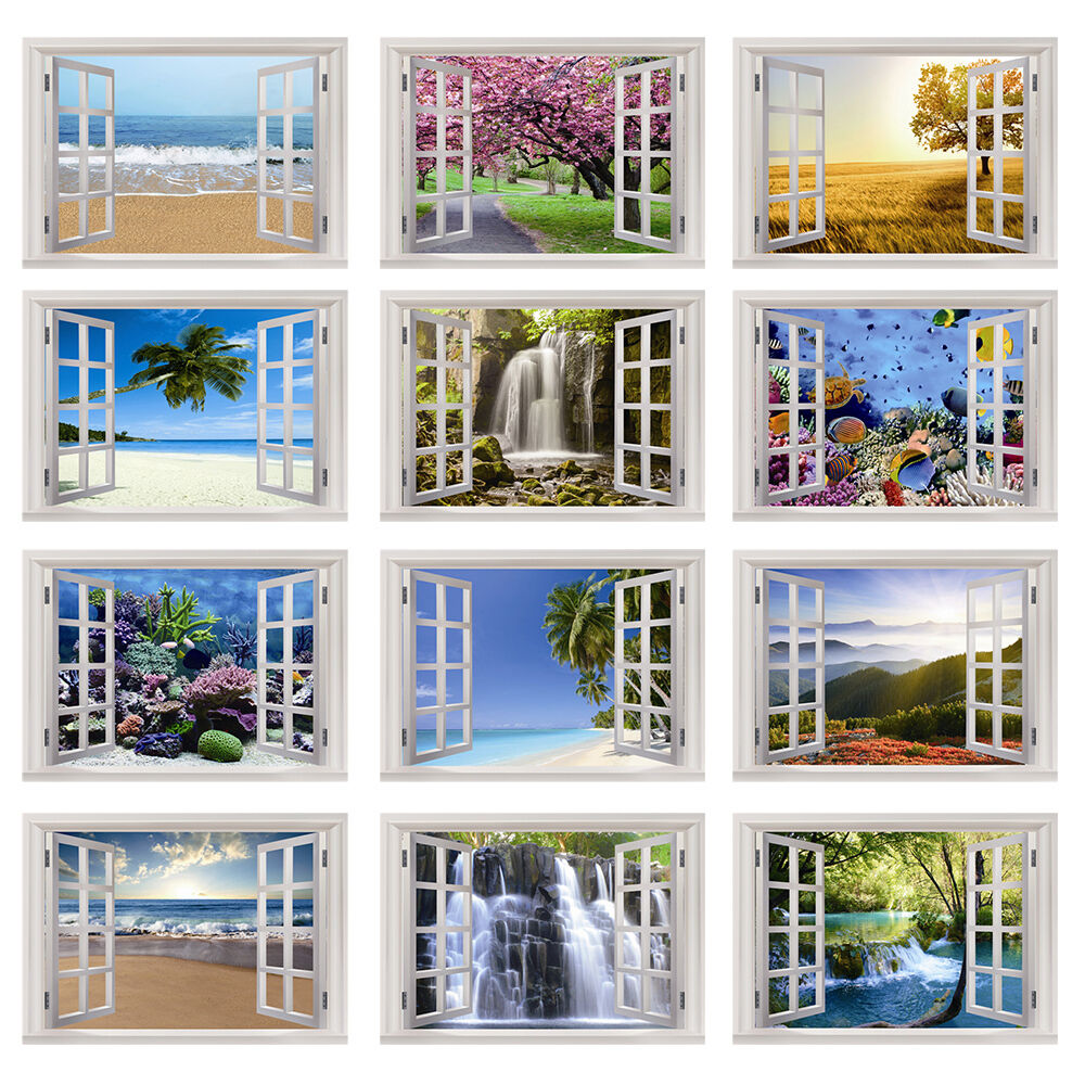 Photo wall mural prepasted wallpaper home decal covering for Home wallpaper ebay