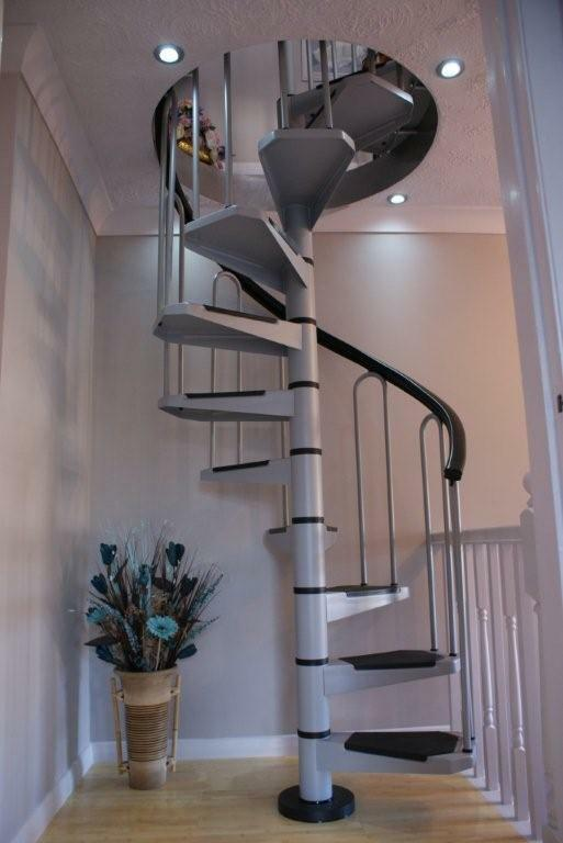 af26 petite small diameter spiral staircase kit stairs