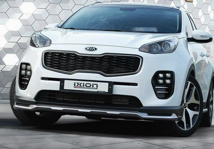 ixion front lip add on kit for kia sportage ql 2016 ebay. Black Bedroom Furniture Sets. Home Design Ideas