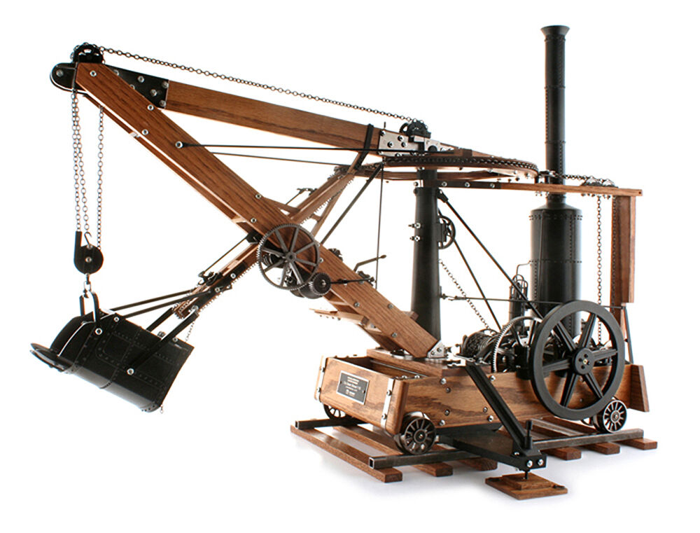 Tower Crane Inventor : Twh sword scale otis steam shovel hcea limited
