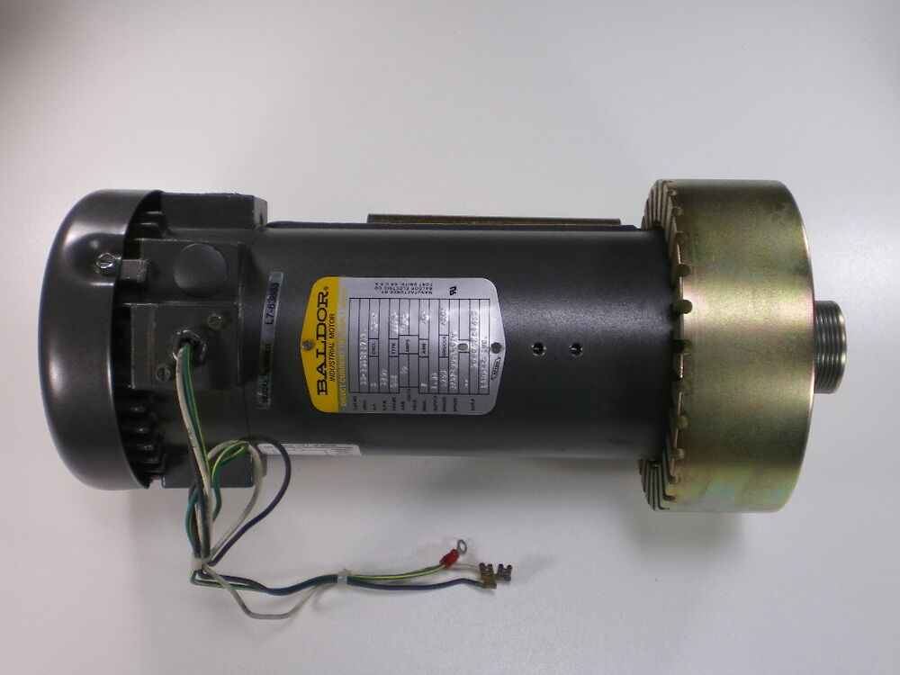 Baldor 3 hp dc drive treadmill motor fits landice l7 8700 for A and l motors