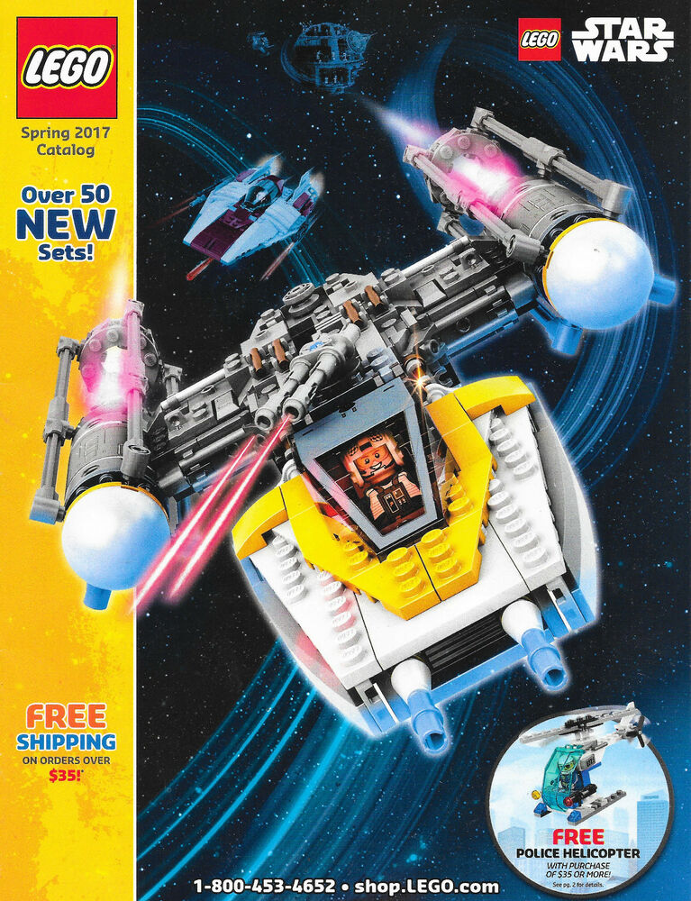 LEGO Spring 2017 CATALOG Products Magazine Promotional Item 56 Pages ...