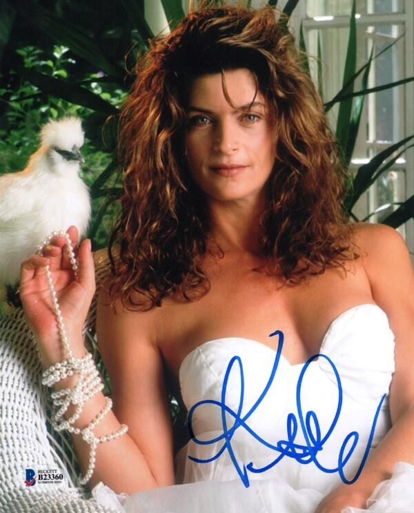 kirstie alley signed autographed 8x10 photo pretty rebecca