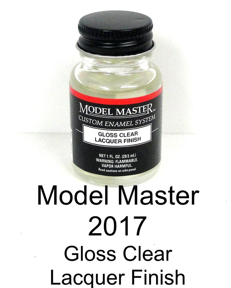 Buy Lacquer Paint: Model Master 2017 Gloss Clear Finish 1 Oz Lacquer Paint
