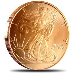 Kyпить 1 oz Copper Round - Walking Liberty на еВаy.соm