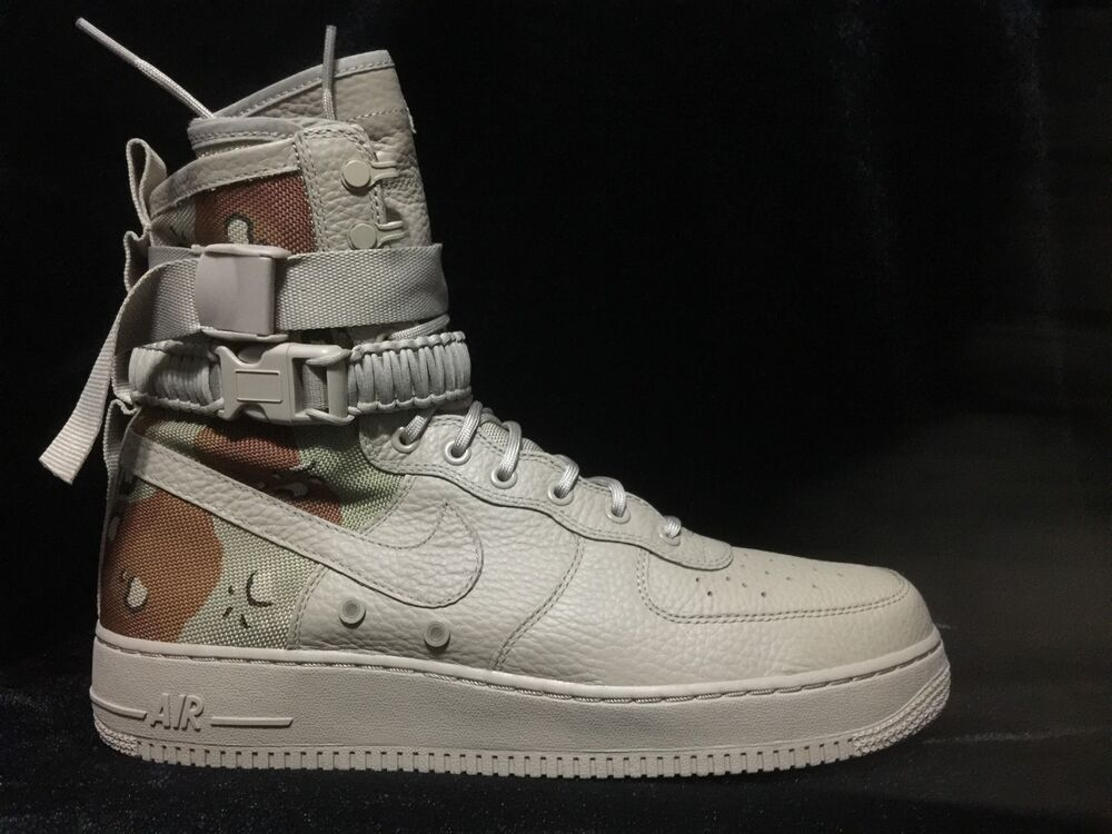 Nike Air Force One High Sf Special Quot Camo Quot Field Urban