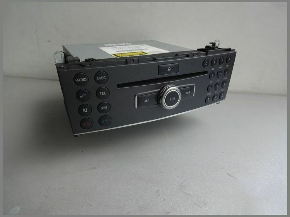 mercedes w204 cd radio autoradio audio 20 cd radio. Black Bedroom Furniture Sets. Home Design Ideas