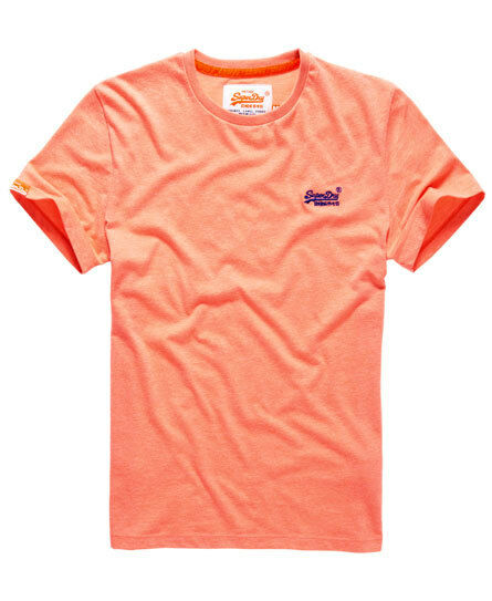 neues herren superdry orange label vintage hyper pop t shirt light. Black Bedroom Furniture Sets. Home Design Ideas