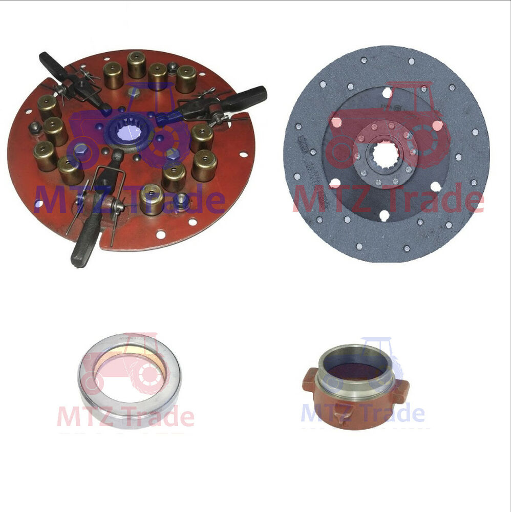 Tractor Clutch Assembly : Belarus tractor clutch assembly kit an t lb