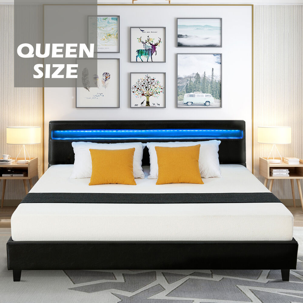 white full size metal bed frame cry finial headboard footboard bedroom furniture ebay. Black Bedroom Furniture Sets. Home Design Ideas