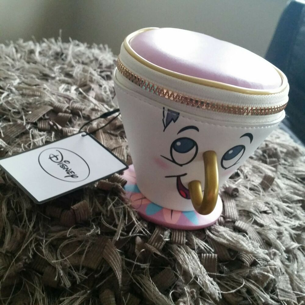 disney beauty and the beast chip cup 3d coin purse primark. Black Bedroom Furniture Sets. Home Design Ideas