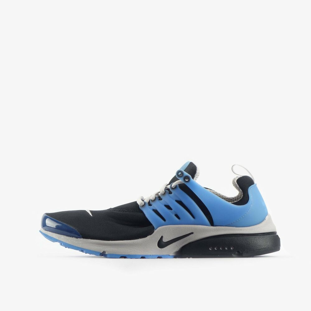 half off 8ccb3 55099 Details about Nike Air Presto QS Mens Trainers Shoes Black Grey
