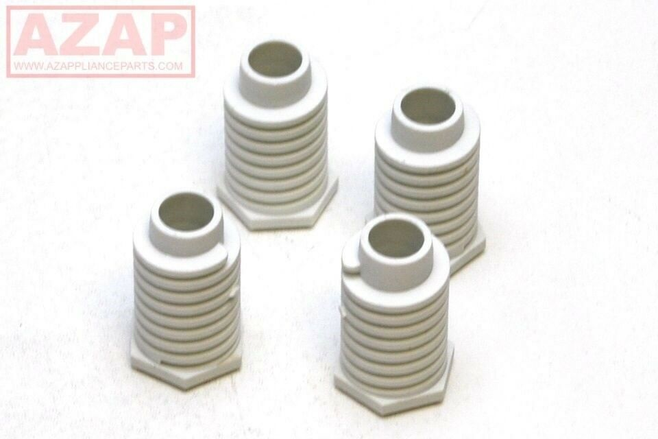 49621 Dryer Leveling Legs 4 Pack W10823505 For Kenmore