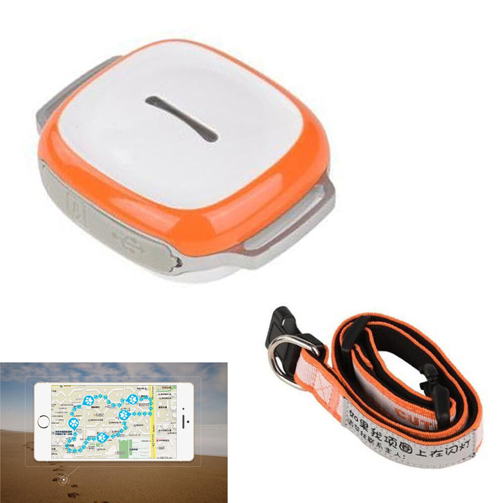mini gps tracker collar waterproof real time locator. Black Bedroom Furniture Sets. Home Design Ideas
