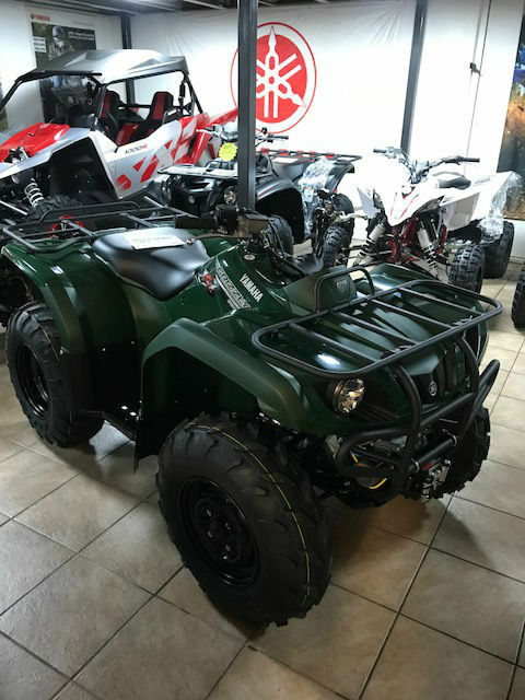 yamaha grizzly 350 4x4 utility farm off road quad atv new ebay. Black Bedroom Furniture Sets. Home Design Ideas