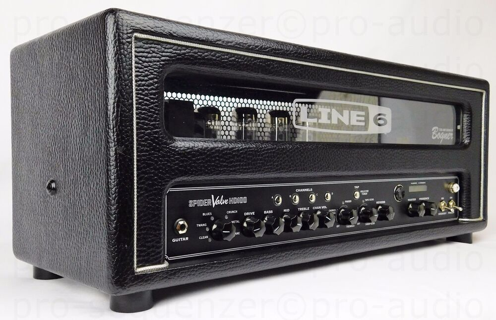 line 6 spider valve hd100 head tube r hren amp modeler bogner garantie ebay. Black Bedroom Furniture Sets. Home Design Ideas