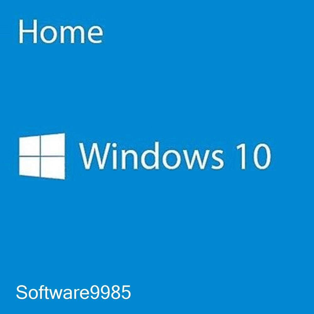 WINDOWS 10 HOME 32/64 BIT GENUINE LICENSE KEY PRODUCT CODE ...