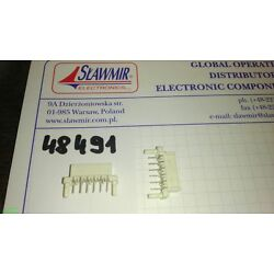 Stocko 6 way PCB straight connector THT MS7172-006-000-455 RM2.5mm Lot-20pcs