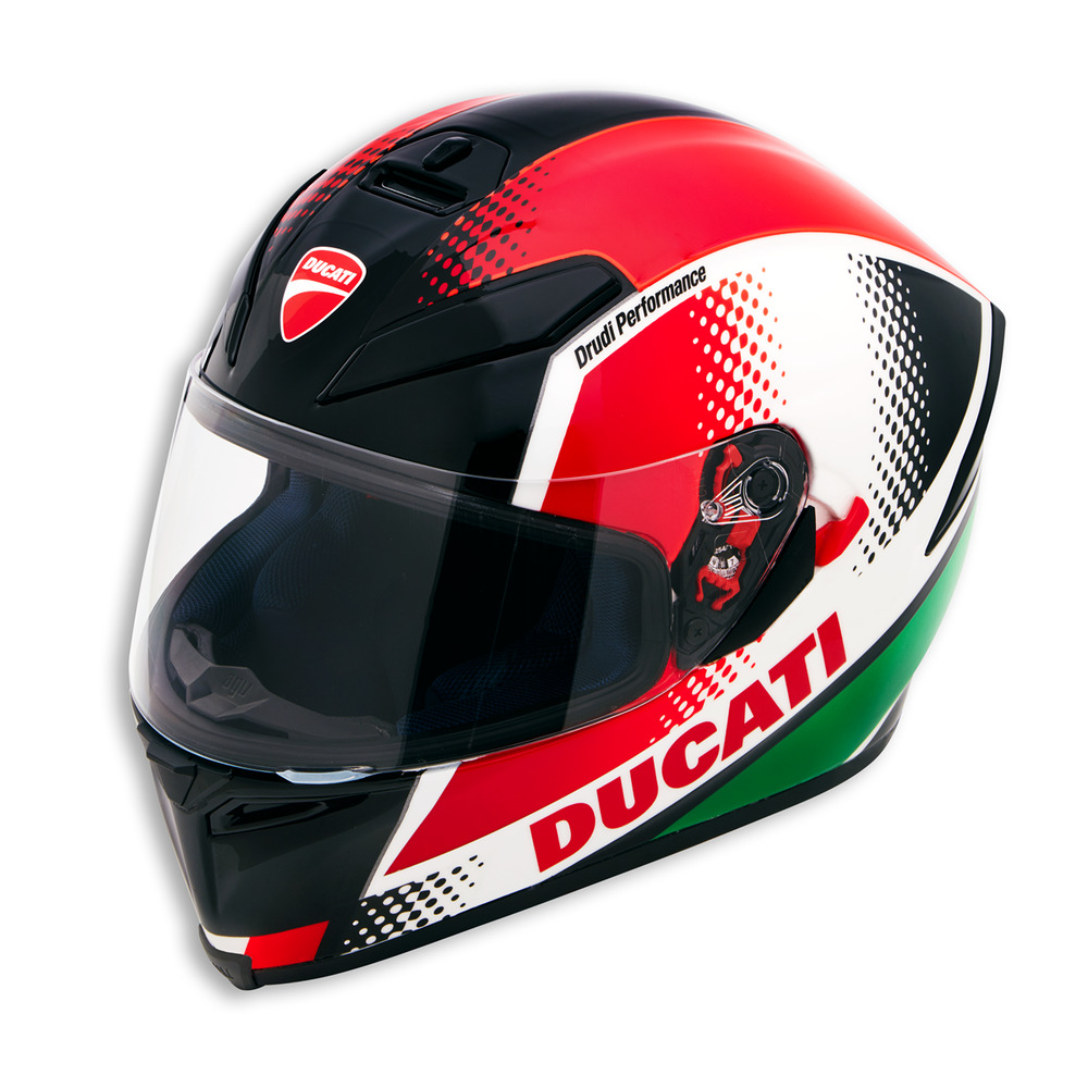 ducati peak v3 motorcycle helmet 98103701 agv k 5 ebay. Black Bedroom Furniture Sets. Home Design Ideas