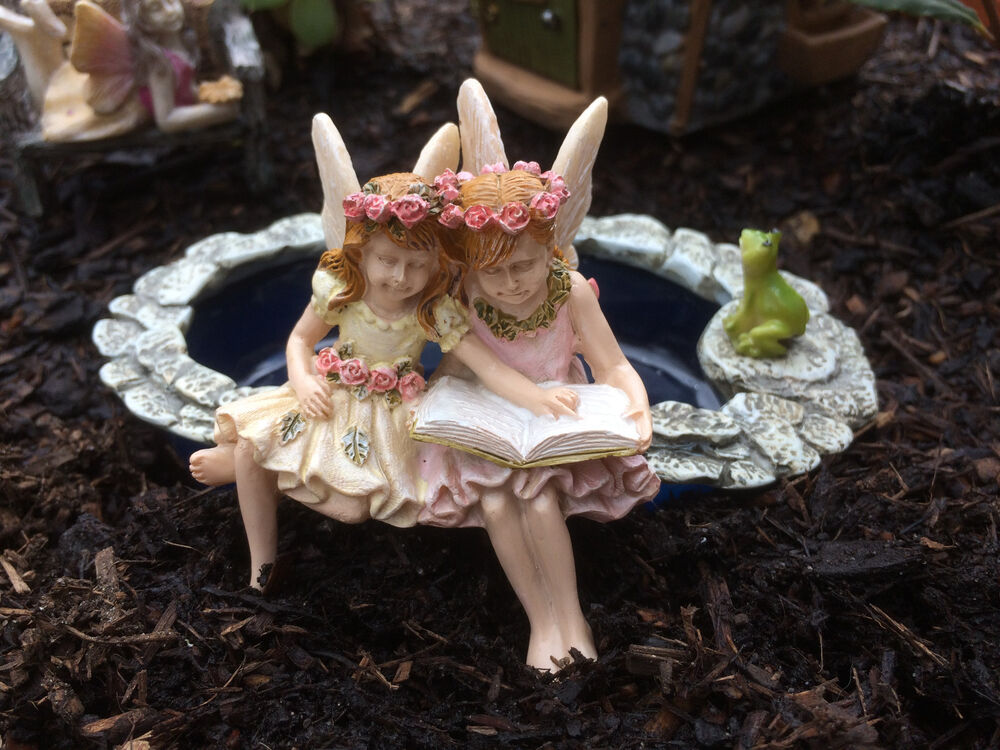Fairy figurines fairies for your fairy garden ebay for Fairy garden figurines