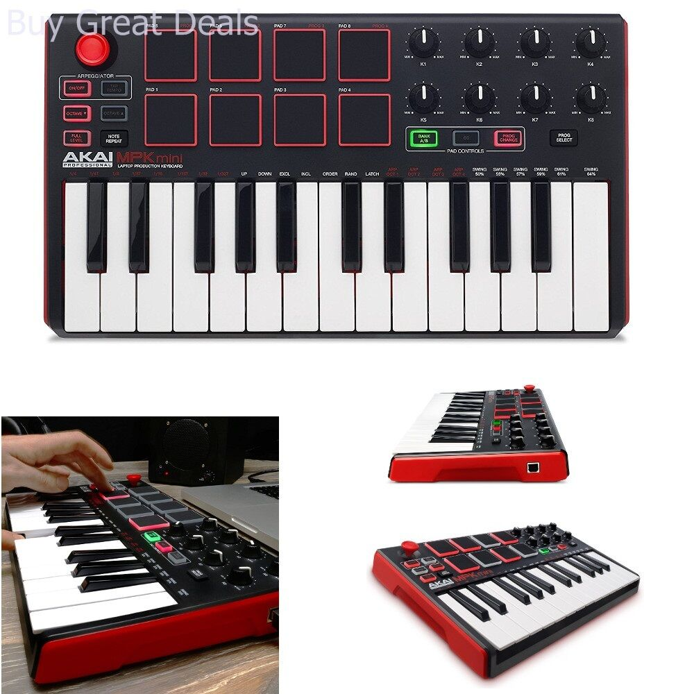 new beat music maker dj piano usb midi drum pad keyboard controller joyst 694318015599 ebay. Black Bedroom Furniture Sets. Home Design Ideas