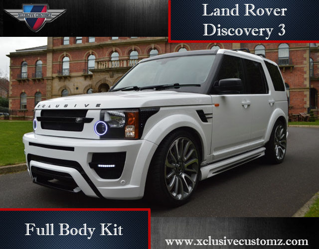 land rover discovery 3 full body kit conversion tuning ebay. Black Bedroom Furniture Sets. Home Design Ideas