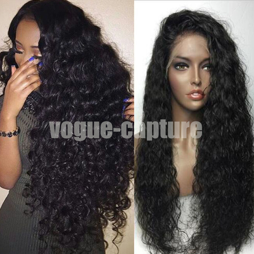 Brazilian Full Lace Front Wigs With Baby Hair Glueless