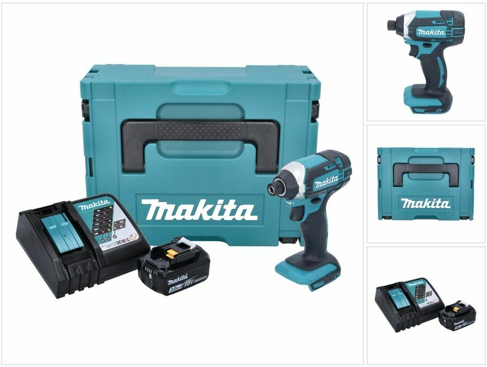 makita dtd 152 rf1j 18v akku schlagschrauber 165nm. Black Bedroom Furniture Sets. Home Design Ideas
