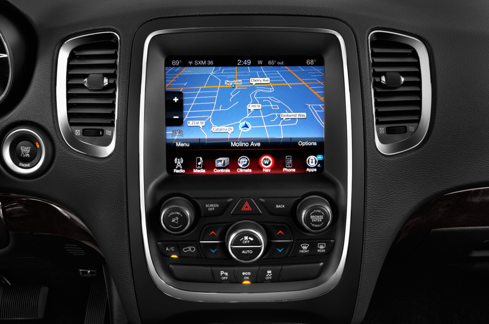 S L on 2014 Dodge Durango Interior