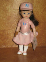 Madame Alexander Doll McDonald's Team Mates Girl Happy Meal Toy 2005 Baseball