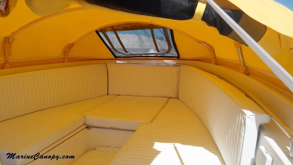 Element Instant Canopy : The element marine prefab instant cabin boat cover bow