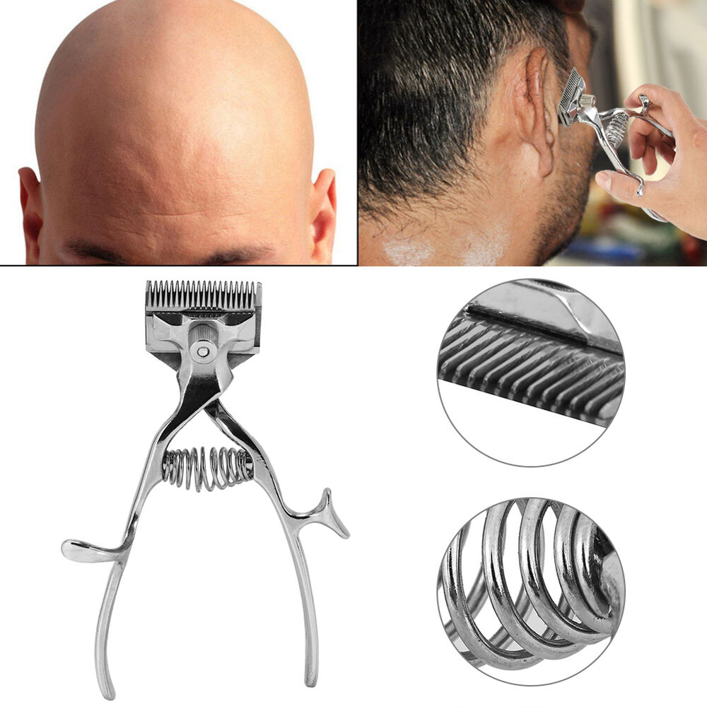 Hot Manual Haircut Hand Push Hair Cutter Clipper Trimmer