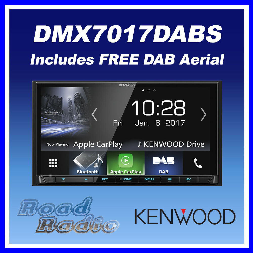 kenwood dmx7017dabs 7 apple carplay android auto. Black Bedroom Furniture Sets. Home Design Ideas