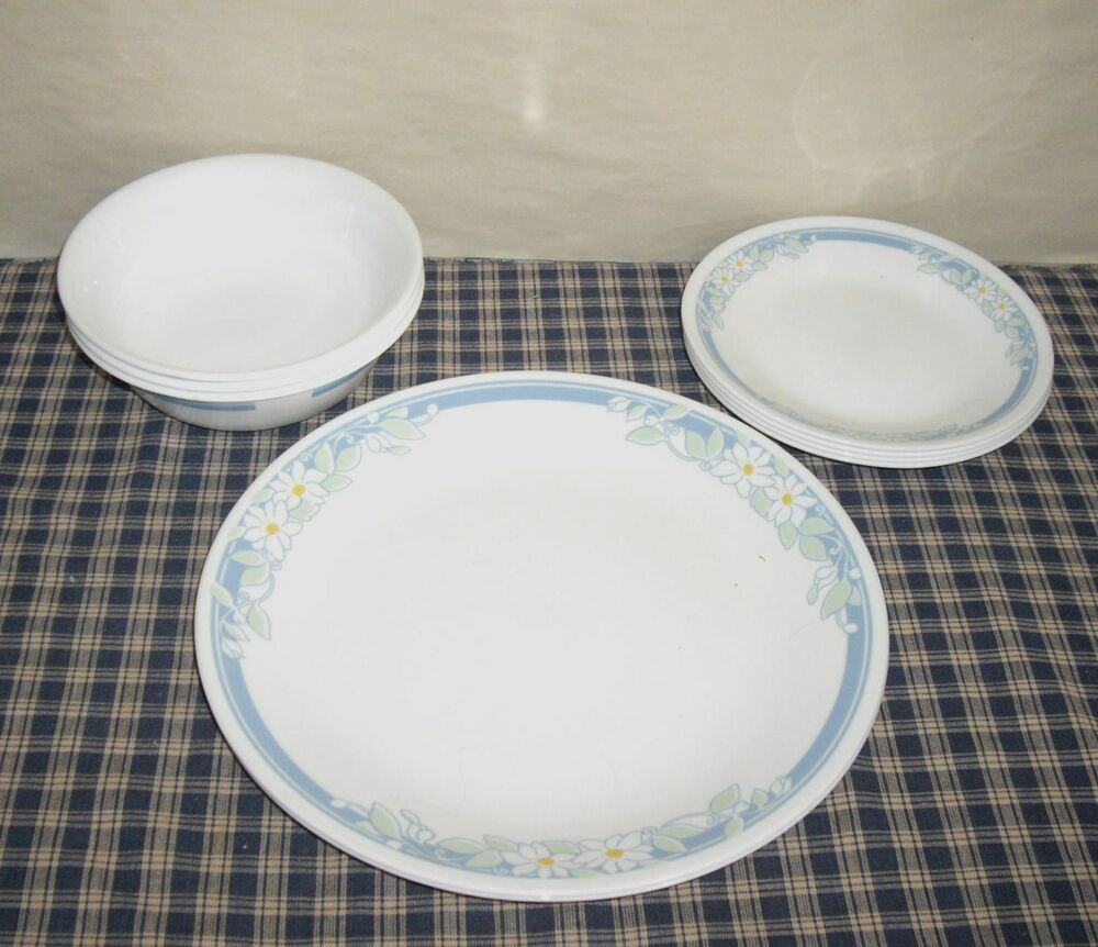 Corelle Corning Jasmine Dinnerware Set 9 Pieces Made In The USA EBay